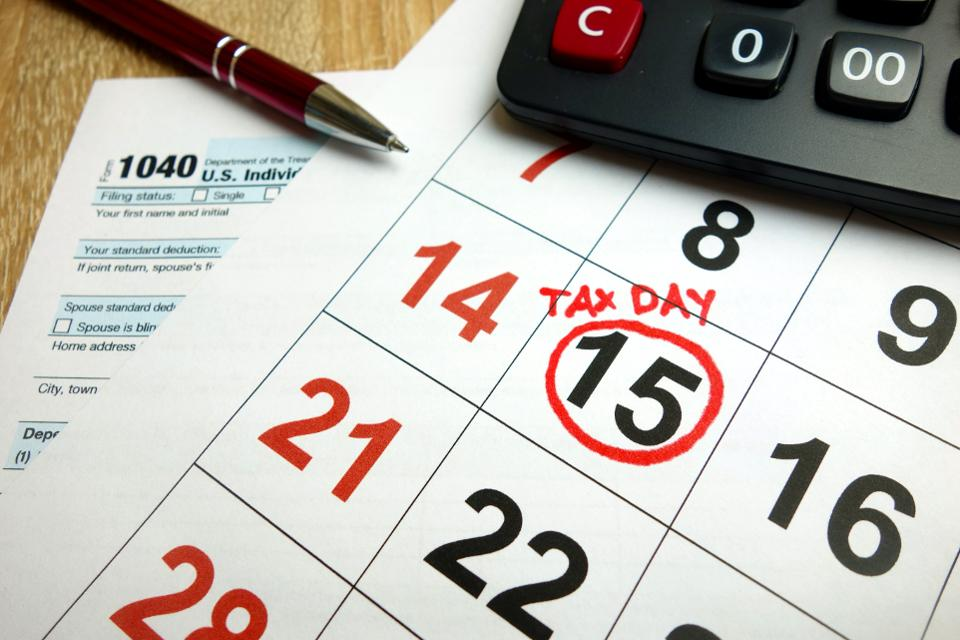 Tax Due Dates for December 2019
